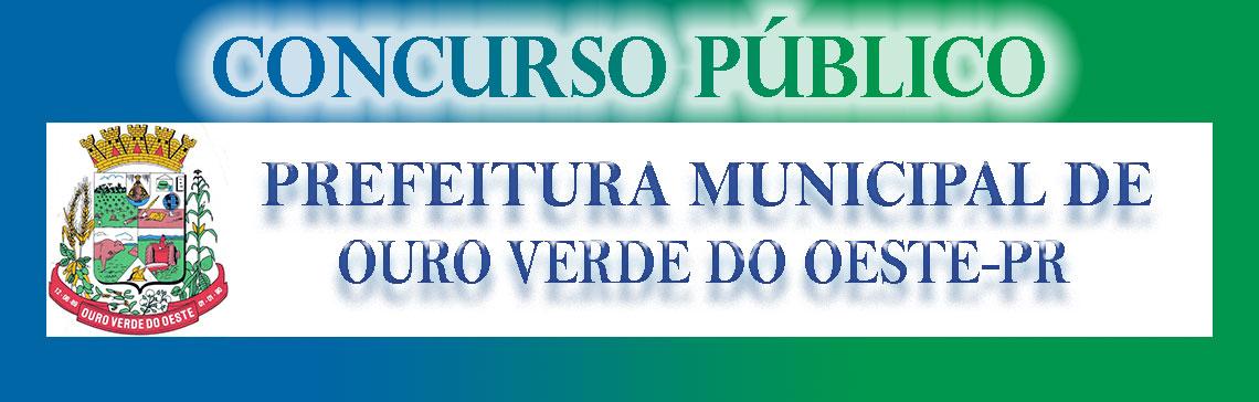 Prefeitura Municipal de Ouro Verde do Oeste, PR