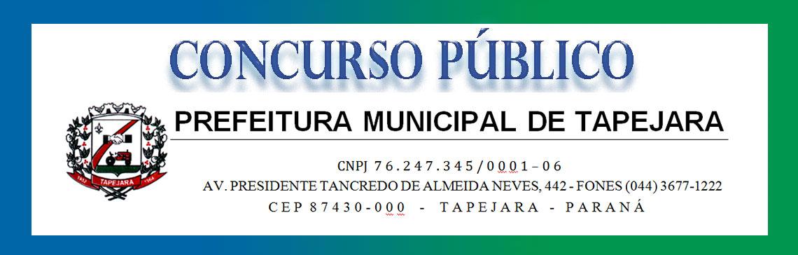 Prefeitura Municipal de Tapejara, PR