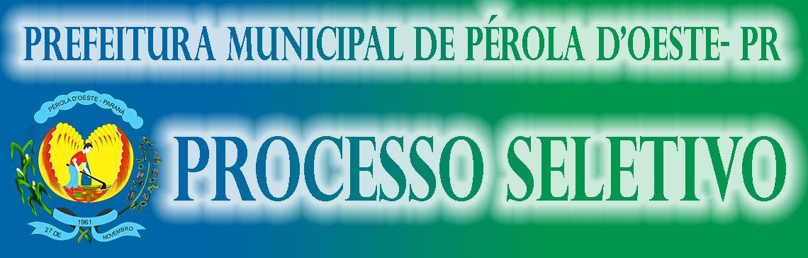 Prefeitura Municipal de Pérola D'Oeste, PR