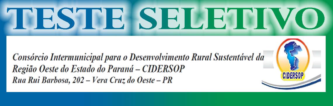 CIDERSOP - Consórcio Intermunicipal para o Dese...
